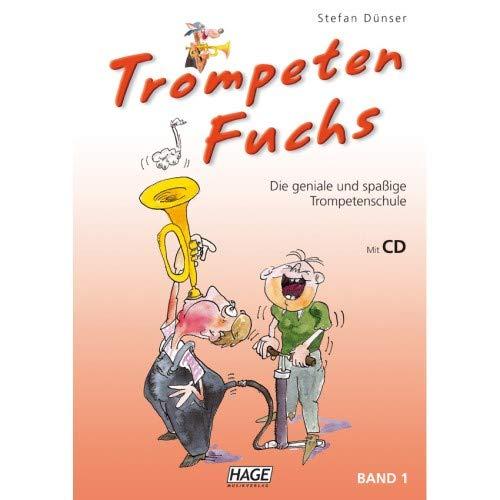 Hage - Trompeten Fuchs 1 - Trompetenschule mit CD