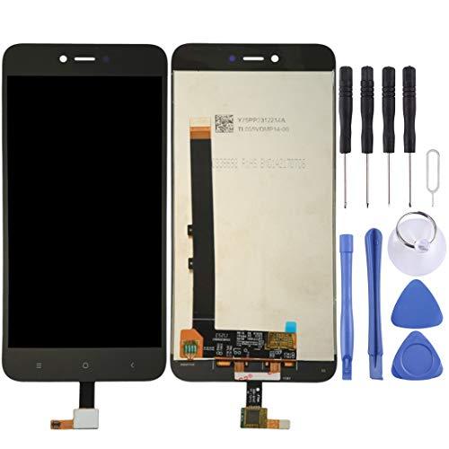 DONG Recambios para el teléfono móvil Xiaomi Redmi Note 5A Pantalla LCD Pantalla táctil digitalizador Asamblea (Color : Black)