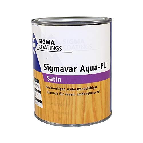 1L Sigma Sigmavar Aqua-PU satin Klarlack Holzlack Möbellack Holzversiegelung