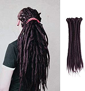handmade synthetic dreadlocks