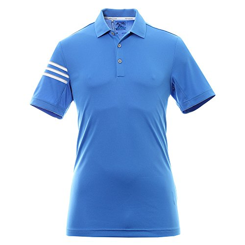 Adidas Golf Climacool 3 Stripes Club Crestable shirt poloshirt
