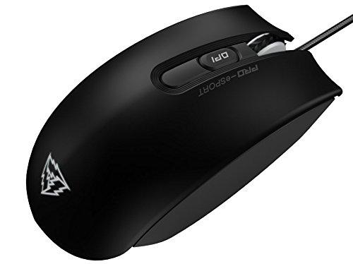ThunderX3 TM40- Raton gaming profesional-(Sensor AVAGO 9800, Retroiluminacion LED, Interruptor Omron, Personalizacion absoluta) Color Negro