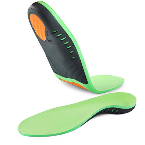 Hyperspace Plantar Fasciitis Arch Support Insoles for Men and Women Shoe Inserts - Orthotics...
