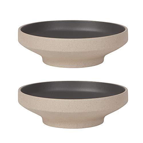 Now Designs Contour 8inch Matte Black Dining Bowl