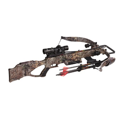 Excalibur Matrix 380 Crossbow Package, Realtree Xtra, 260-Pound
