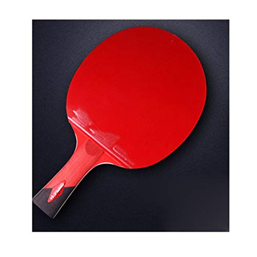 Find Discount HUIJUNWENTI Table Tennis Racket, Genuine Double-Sided Anti-Adhesive Racket, Profession...
