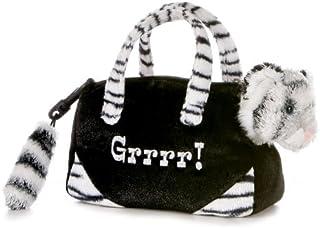 "Aurora Plush White Tiger FancyPal - 12"""