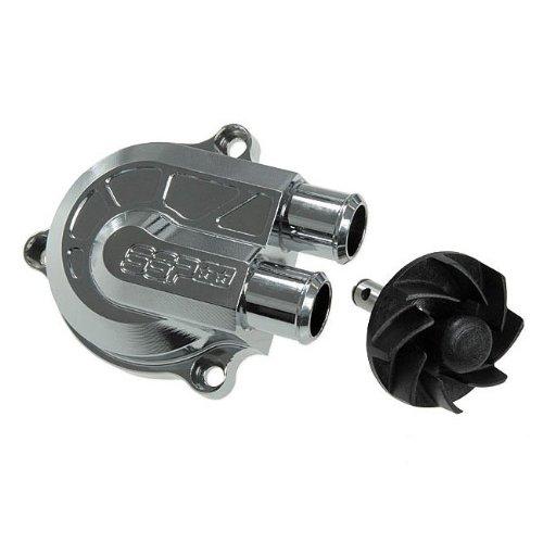 Pompe à Eau STAGE6 CNC Racing Type pour MINARELLI, Chrome (+ 40% Débit)