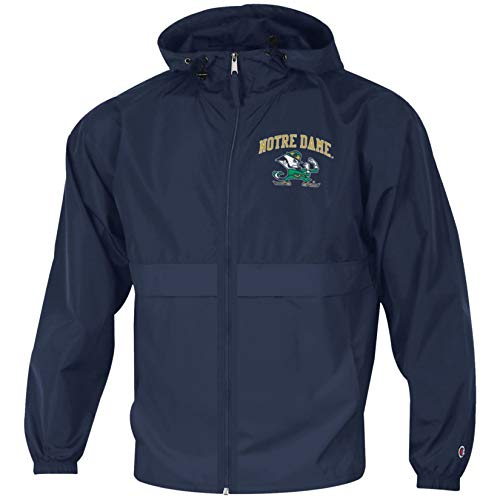 CHAMPION Herren Jacke NCAA Lightweight Full Zip Jacket, Herren, Lightweight Full Zip Jacket, Navy, Medium