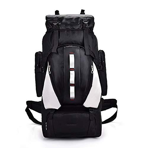 Ys-s Personalización de la tienda Morral al aire libre 2020 de gran capacidad del bolso del alpinismo del recorrido impermeable multifunción mochila hombres y mujeres mochila transpirable, reducir los
