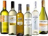 毎日楽しめるイタリアワイン ソアヴェ、トレッビアーノなど飲み比べ 白ワインだけ 750ml×6本セット