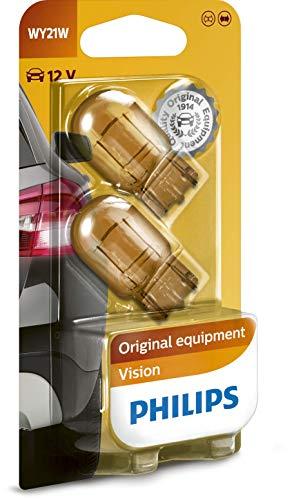 Philips 12071B2 Glassockellampe WY21W, 2-er Set Blister