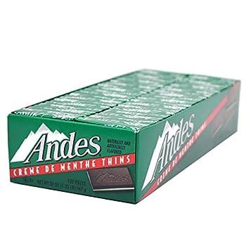 Andes Creme De Menthe Thin Mints 120-Count Thins