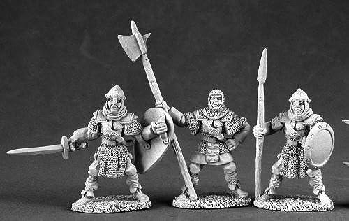 Reaper Miniatures 3509 Men At Arms - 3 by Reaper