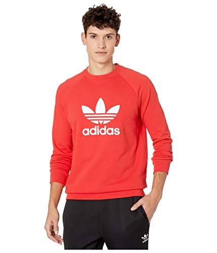 Adidas Sweater Mens Red