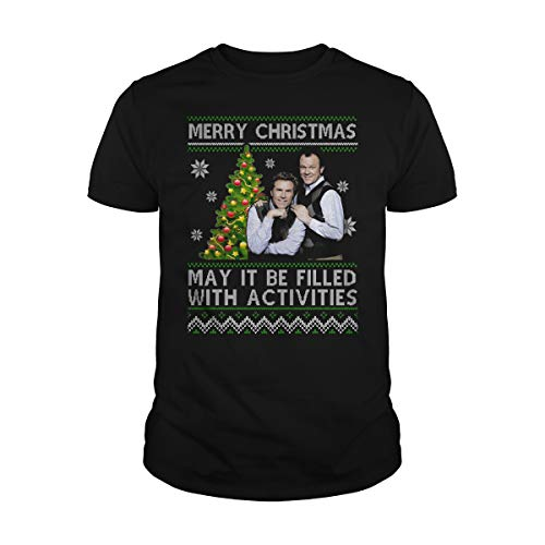 Uzubunki Merry Christmas May It Be filled with Activities Ugly T-Shirt