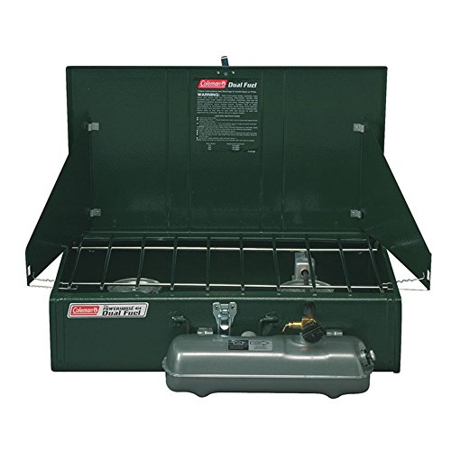 Coleman Guide Series Powerhouse Dual-Fuel Camping Stove, 2-Burner