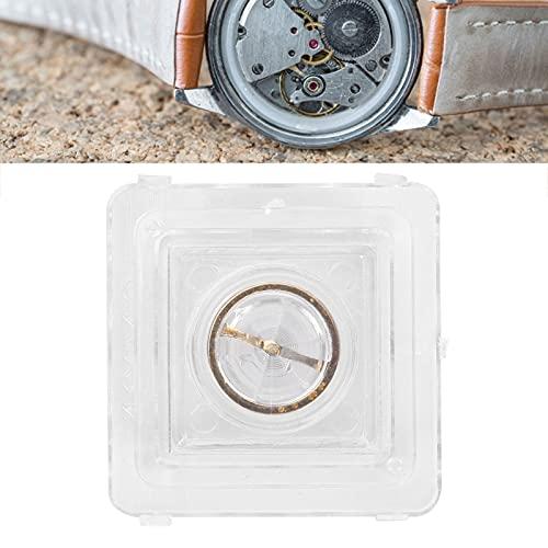 Rueda de equilibrio de movimiento de reloj, rueda de equilibrio de reloj con material de aleación de resorte de pelo, gran reemplazo profesional para piezas de reparación de reloj de
