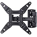 Full Motion TV Wall Mount Articulating Bracket for 13-42 Inch LED LCD OLED Flat Curved Screens,...