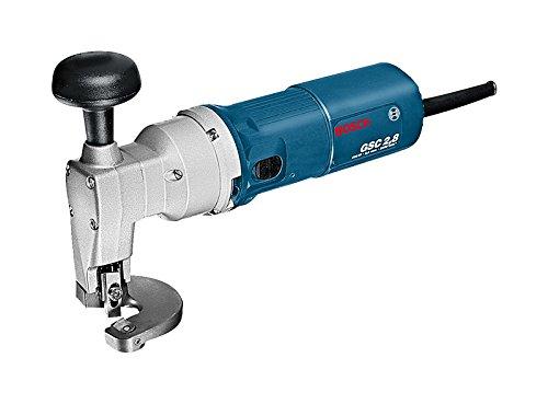 profesional ranking Bosch Professional GSC 2.8 – Tijeras eléctricas (500 W, 2400 cpm, corte de acero de 2,8 mm, paquete) elección