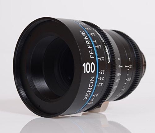 Schneider-Kreuznach 1078529 Cine Objektiv FF-Prime T2.1/100 mm, Nikon/m schwarz