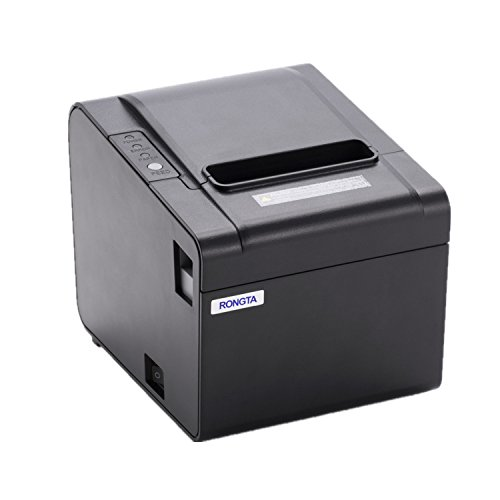 Fantastic Deal! Rongta RP326US ECO-Friendly Receipt Printer, USB (Cable incl.) Serial Interfaces, Au...