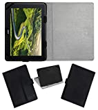 Acm Leather Flip Flap Case Compatible with Acer One 10 Tablet Cover St