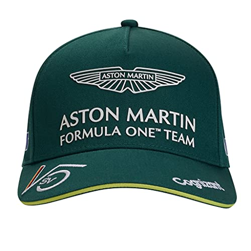 Aston Martin F1 Team Baseball Cap   Sebastian Vettel   Erwachsene   Grün   2021