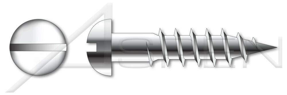 M6 X 20mm DIN 96 Regular dealer Colorado Springs Mall Wood Screws 600 Round Stainless A2 Slot pcs