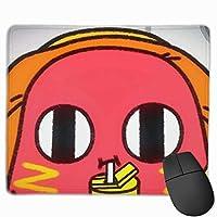 帽子をかぶって红豆 マウスパッド ノンスリップ 防水 高級感 習慣 パターン印刷 ゲーミング ホビー 事務 おしゃれ 学習