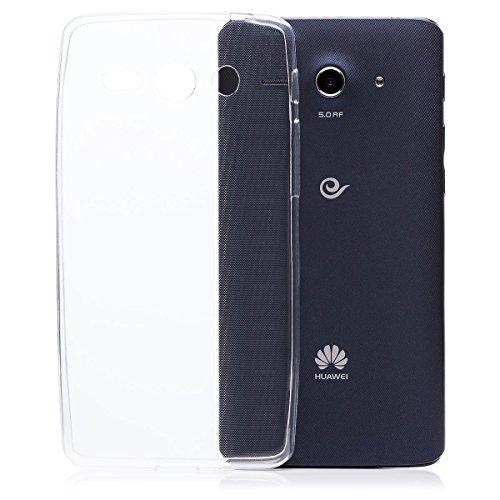 Huawei Ascend Y530   iCues ultra delgado claro del caso de TPU   luz extra transparente lámina protectora Caso muy delgada de piel Claro Claro gel de silicona transparente de protección [prote