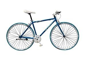 Helliot Bikes Singlespeed Fixed Gear H22 Urban Fixie Fahrräd, violett, One Size
