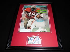 Earl Cooper Signed Framed 1981 Sports Illustrated Magazine Cover Display 49ers