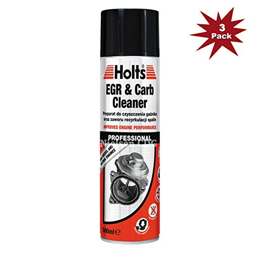 Holts Egr & Carb Cleaner for Petrol & Diesel Engines 500ml - 3pk