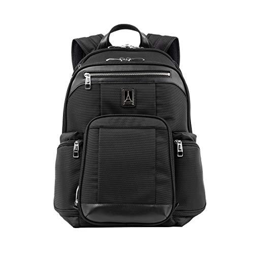 Travelpro Platinum Elite Handgepäck Business Rucksack 44x41x22 cm Weichgepäck mit 15,6 Zoll Laptopfach und Trolley Aufsatzfunktion 23 Liter Nylongepäck...