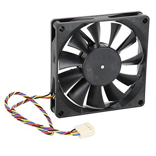 8cm 12V 0.50A 5300rpm Ventilador De Enfriamiento 4 Cables Enfriador De Control De Temperatura PWM para Mainframe-Box - 226