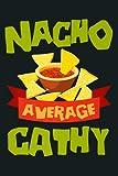 NACHO AVERAGE RACHEL Funny Birthday Personalized Name Gift Premium: Notebook Planner - 6x9 inch Dail...