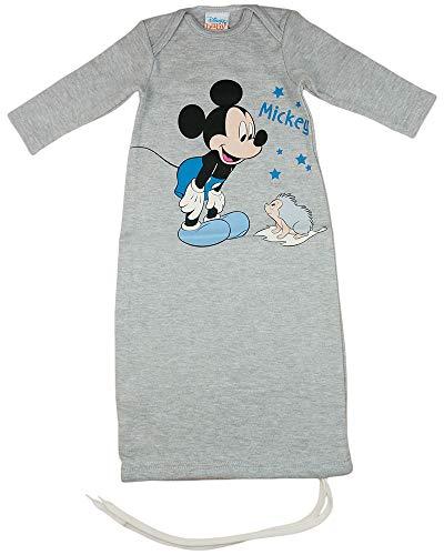 Disney Mickey Mouse Baby- und Kinder- Sommer-Schlafsack Langarm Baumwolle, UNGEFÜTTERT, GRÖSSE 56, 62, 68, 74, 80, 92, 98, 104 Modell 5, Größe 50_56
