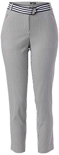 KARL LAGERFELD Paris Damen Pinstripe Pant Hose, Business/Leger, Marineblau/Weiß, 44