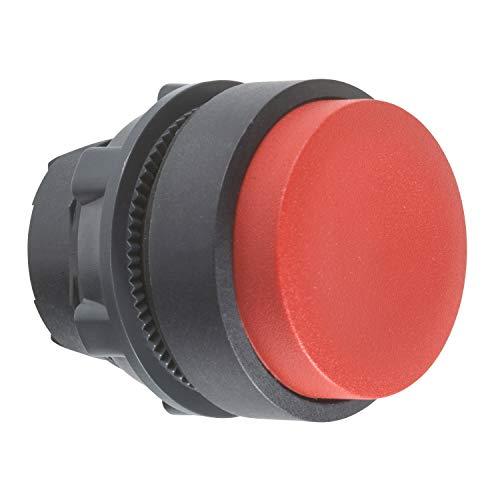 Schneider ZB5AL4 Frontelement rund für Drucktaster, ohne Rastung, vorstehend, neutral, Rot, Durchmesser 22 cm
