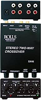 rolls Tiny Stereo 2 Way Crossover (SX45)
