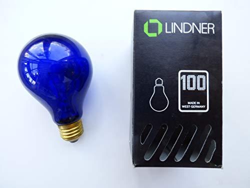 Lindner Glühlampe E27, 100W, Schwarzlicht, AGL