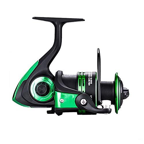 ZHYLing 2020 Alta Velocidad Doble Carrete Pesca Spinning 5.1: 1/5.2: 1 Relación de Engranajes Carp Fishing Reels Mano Izquierda/Derecha Carrete de la Pesca Ruedas (Spool Capacity : 6000 Series)