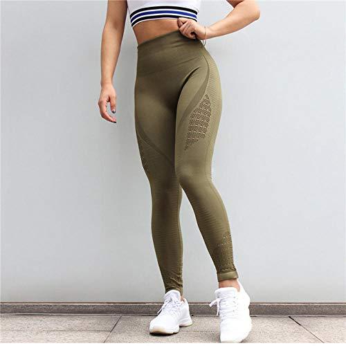 Yoga Hosen Training Laufende Leggings,Neue Energie Nahtlose Nahtlose Yogahosen,Legging Sport Strumpfhosen für Drop Shipping-Style_D_M,Hohe Taille Sporthosen Super