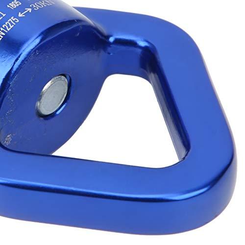 FEYV Swing Rotator, un Dispositivo Giratorio de diseño Triangular, Dispositivo Giratorio al Aire Libre para Campamento de Swing de Yoga(Gris Azul)