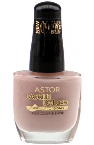 Astor Lacque DeLuxe Lycra Rich Color & Shine Nagellack 418 Soft Ivory 12ml (A27)