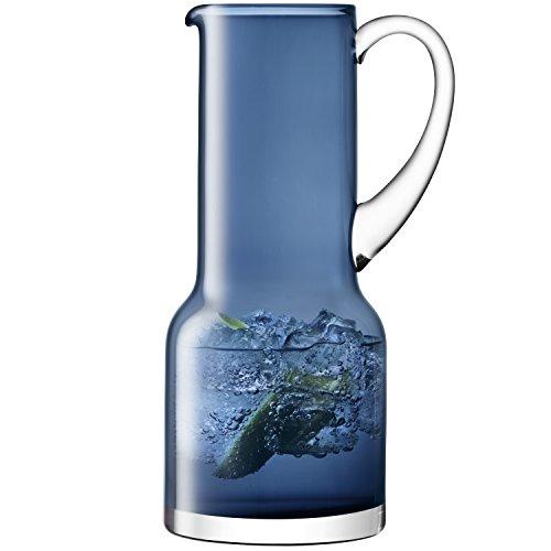 LSA International Utilitaire Pichet 1.35l Sapphire, Bleu, 8 x 12.5 x 26.8 cm