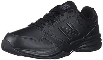 New Balance mens 411 V1 Walking Shoe Black/Black 8.5 US