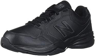 New Balance Men's 411 V1 Training Shoe, Black/Black, 10