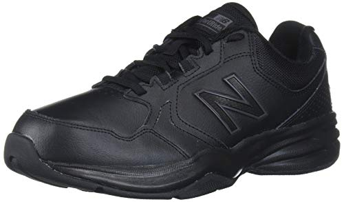 New Balance Men's 411 V1 Walking Shoe, Black/Black, 11 M US